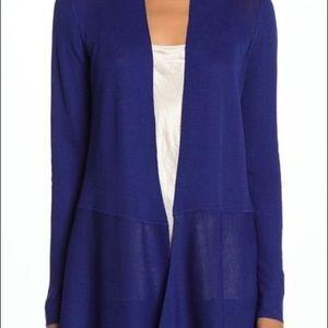 Anne Klein sapphire blue sweater